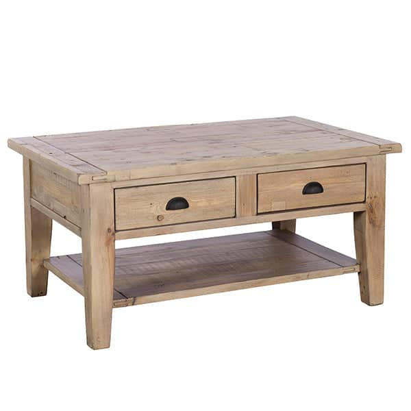 Chelwood Reclaimed Wood Coffee Table Cutout