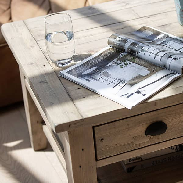 Chelwood Reclaimed Wood Coffee Table Top