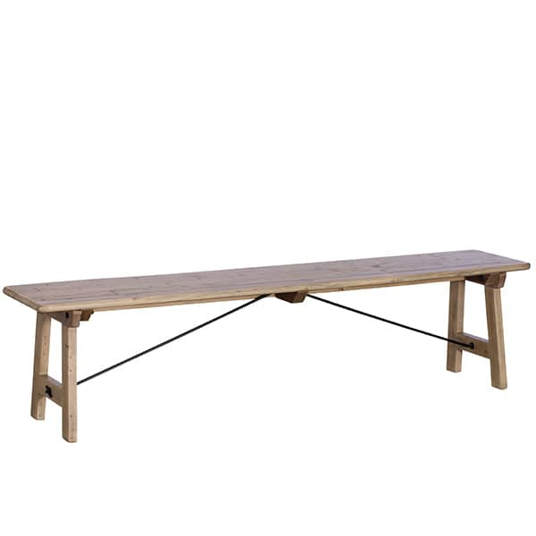 Chelwood Reclaimed Wood Dining Bench