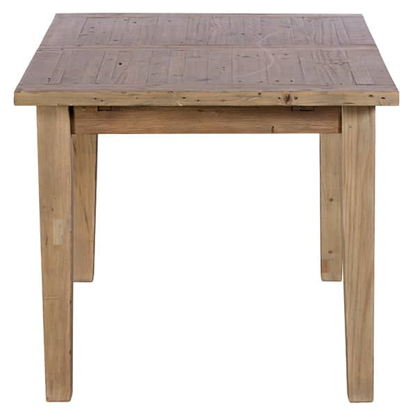 Chelwood Reclaimed Wood Extendable Dining Table Side