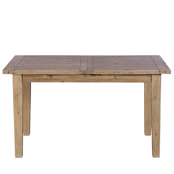 Chelwood Reclaimed Wood Extendable Dining Table Front