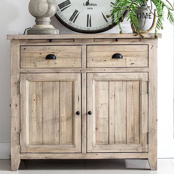 Chelwood Medium Reclaimed Wood Sideboard