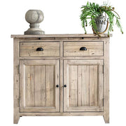 Chelwood Medium Reclaimed Wood Sideboard Cutout Lifestyle