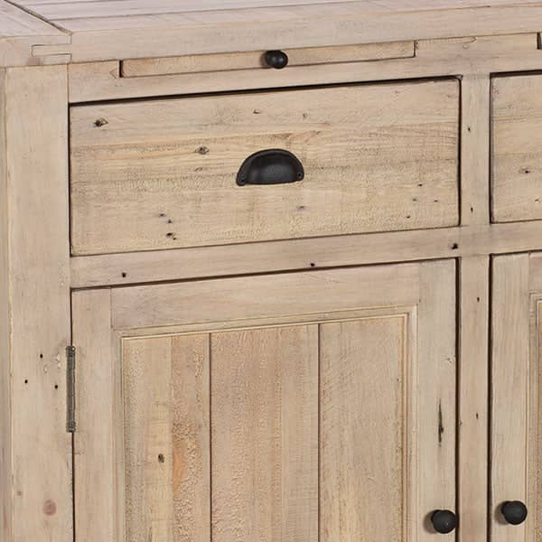 Chelwood Medium Reclaimed Wood Sideboard Close up