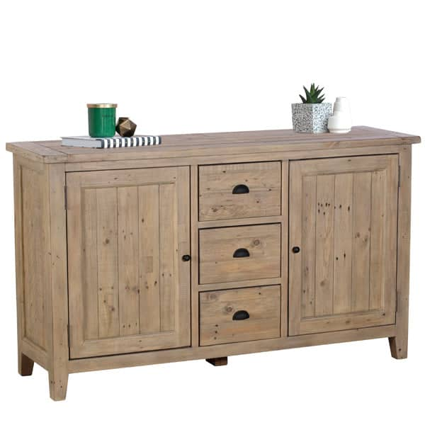 Chelwood Large Reclaimed Wood Sideboard Cut out