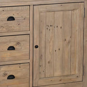 Chelwood Large Reclaimed Wood Sideboard Closeup