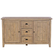 Chelwood Large Reclaimed Wood Sideboard Front