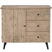 Chelwood Nordic Reclaimed Wood Small Sideboard
