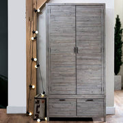 Dulwich Reclaimed Wooden Wardrobe Lifestyle