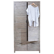 Dulwich Reclaimed Wooden Wardrobe