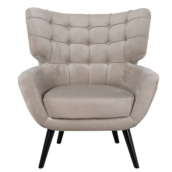 Emily Fabric Armchair Front