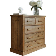 Bremnes Reclaimed Wooden Chest Of Drawers Medium