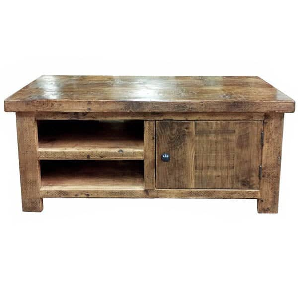 Beam 1 Door Reclaimed Wood TV Stand