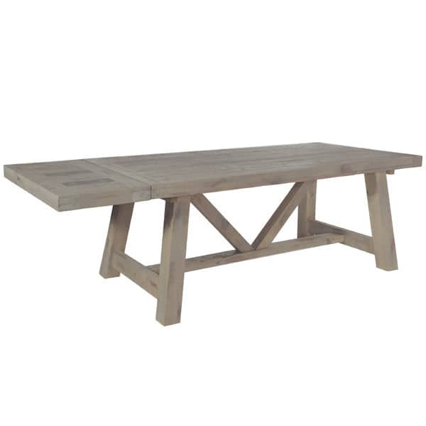Extensions for Farringdon Reclaimed Wood Trestle Table - Modish Living