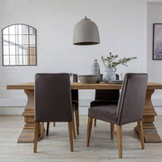 Hoxton Oak Farmhouse Dining Table