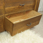 King Size Moss Reclaimed Wood Chest Of Drawers (image 5)