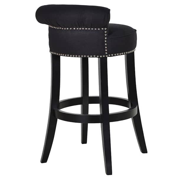 Kempley Roll Back Upholstered Bar Stool Back