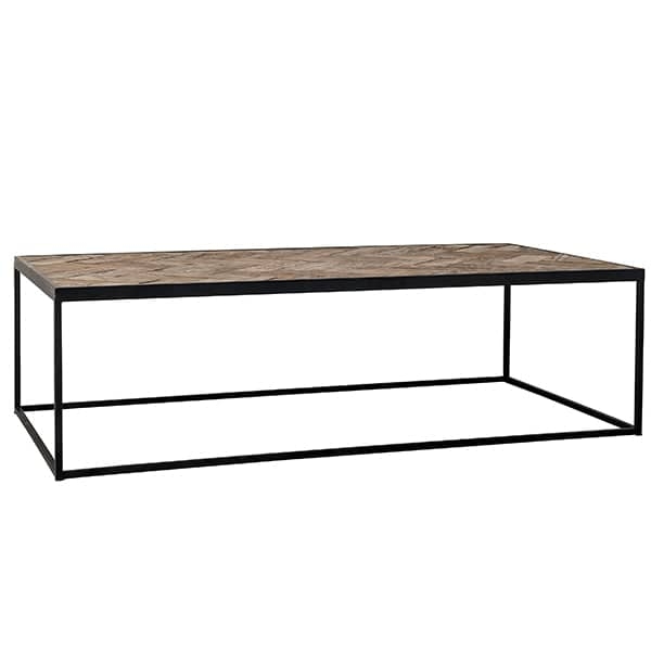 Kingsbridge Industrial Reclaimed Oak Coffee Table Cutout