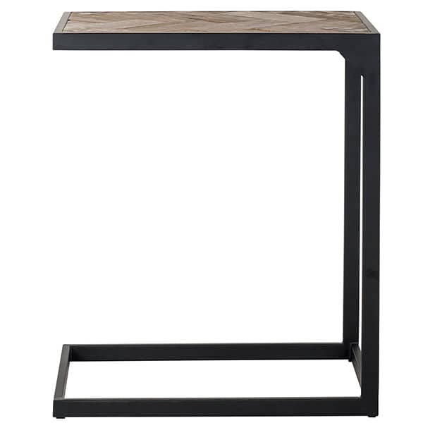 Kingsbridge Industrial Reclaimed Oak Side Table Side