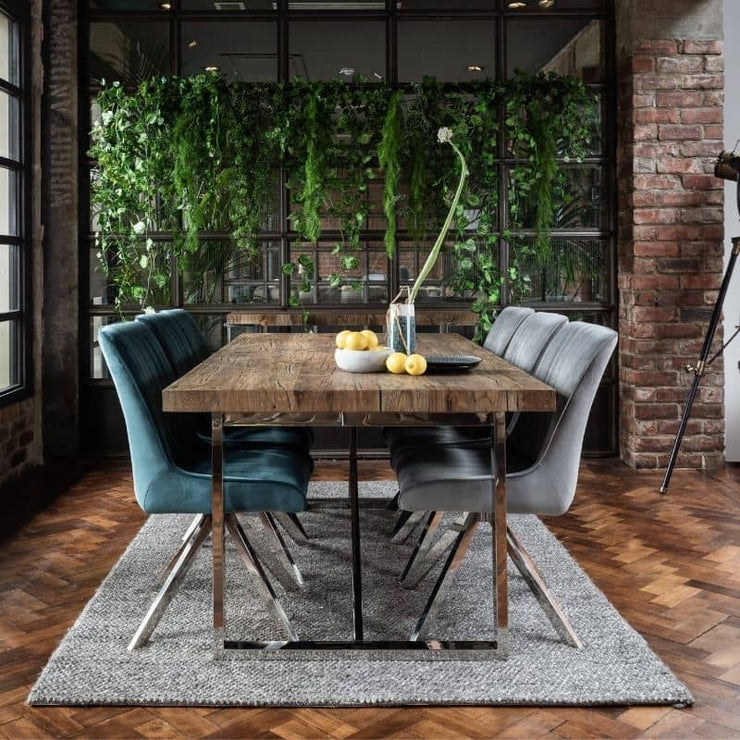 Knightsbridge Reclaimed Oak Dining Table