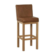 Country Bar Stool Leather
