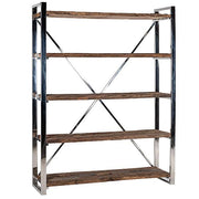 Luxe Kensington Reclaimed Wood Bookcase