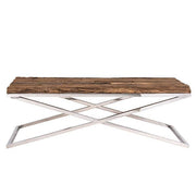 Luxe Kensington Reclaimed Wood Coffee Table front