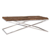 Luxe Kensington Reclaimed Wood Coffee Table cut out