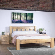 Beam Marlow Reclaimed Wood Bed Natural