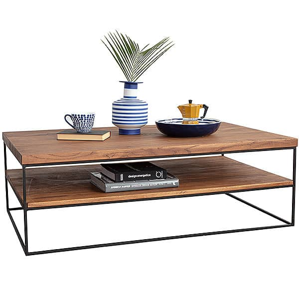 Mitcham Industrial Oak Coffee Table