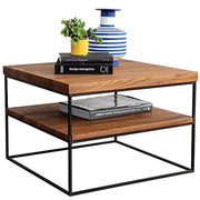 Mitcham Industrial Oak Side Table