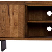 Mitcham Industrial Oak Wood TV Unit Door