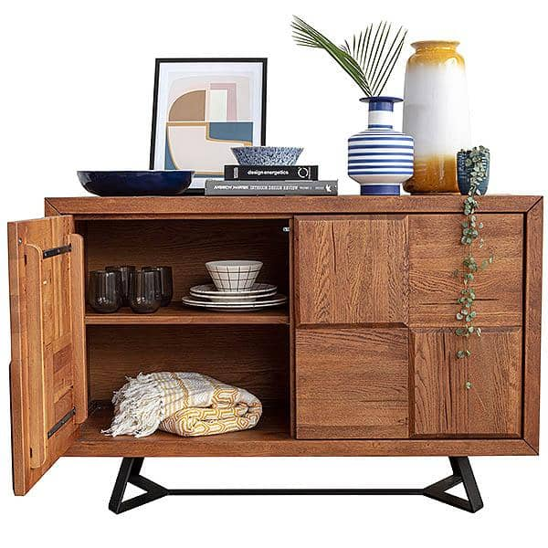 Mitcham Medium Squared Industrial Sideboard