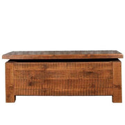 Beam Reclaimed Wood Blanket Box Cutout