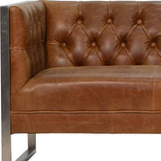 Otto Industrial Chester Club Sofa Close Up