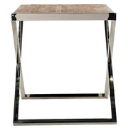 Redmond Reclaimed Elm Side Table Side