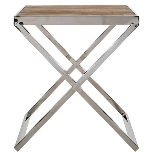 Redmond Reclaimed Elm Side Table Cutout