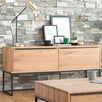 Rocco Industrial Oak Console Table