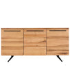Rocco Industrial Oak Sideboard Cutout