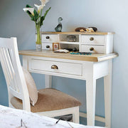 Savannah Small Reclaimed Wood Desk or Dressing Table