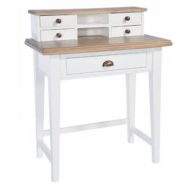 Savannah Small Reclaimed Wood Desk or Dressing Table Cutout