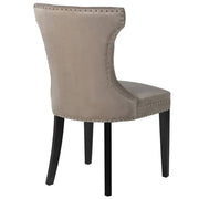 Sienna Velvet Dining Chair Back