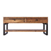 Standford Industrial Reclaimed Wood Coffee Table