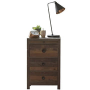 Standford Reclaimed Wood Bedside Table Cutout