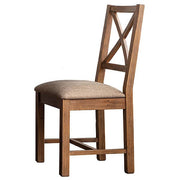 Standford Reclaimed Wood Dining Chair with Cushion