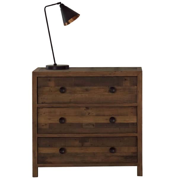 Standford Reclaimed Wood Medium Chest of Drawers Cutout