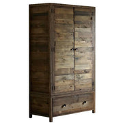 Standford Reclaimed Wooden Wardrobe Cutout