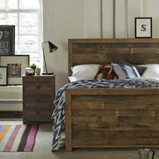 Lifestyle Standford Reclaimed Wood Bedside Table