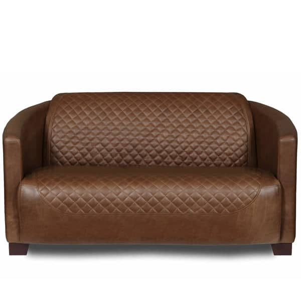 Triumph Cerato Brown Leather Sofa Modish Living