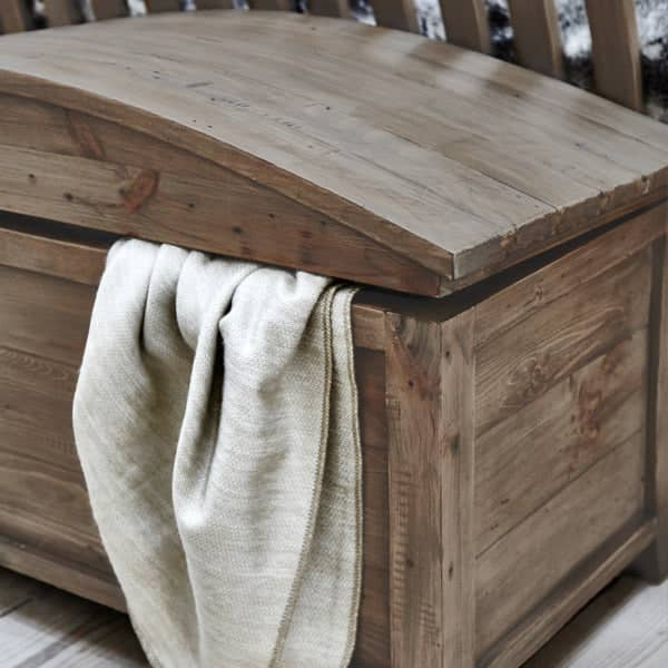 Winchester Rustic Reclaimed Wooden Blanket Chest